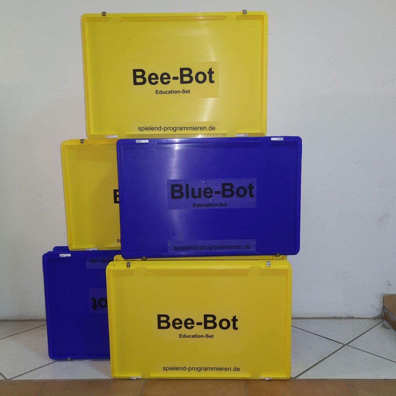 Bee-Bot BlueBot Koffer spielend programmieren
