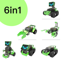 Robobloq QOOPERS Robot KIT  6-in-1