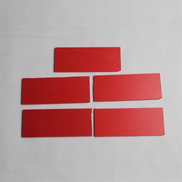 B-BotWorld: Steckplatten rot 5er Set