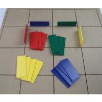 B-BotWorld: Steckplatten blau 5er Set