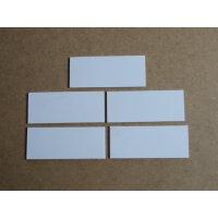B-BotWorld: Steckplatten weiß 5er Set