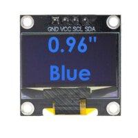 OLED Zusatz-Display Modul 0,96 Zoll - 128X64 I2C SSD1306...