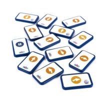 Blue-Bot TacTile Programmkarten Standardset