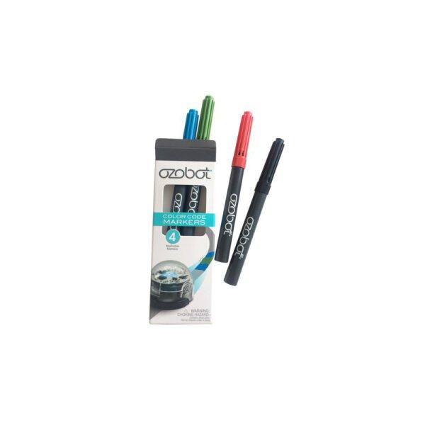 Ozobot farbige Maker / Farbstifte (4er-Pack)