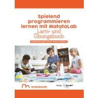 """MatataLab Curriculum Buch """"Spielend programmieren..."""