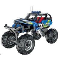 Teknotoys Active Bricks Pullback Off-Road Fahrzeug blau
