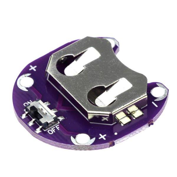 Batterie Halter  für CR2032 Batterie passend zu Arduino / LilyPad