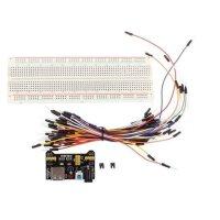 Breadboardset für Arduino inkl. Netzteilmodul